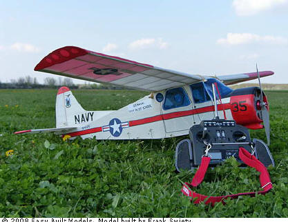 RC Electric Model Kit Dehavilland Beaver by Easy Built Models