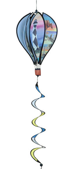 Hot Air Balloon Lighthouses Wind Spinner