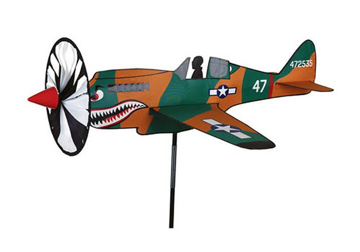 P-40 WARHAWK Wind Spinner Airplane